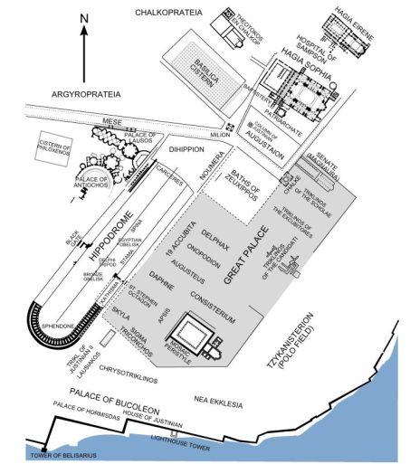 Plano de la situación del hipódromo